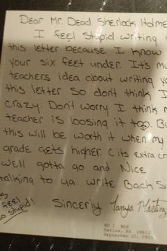 Carta Sherlock