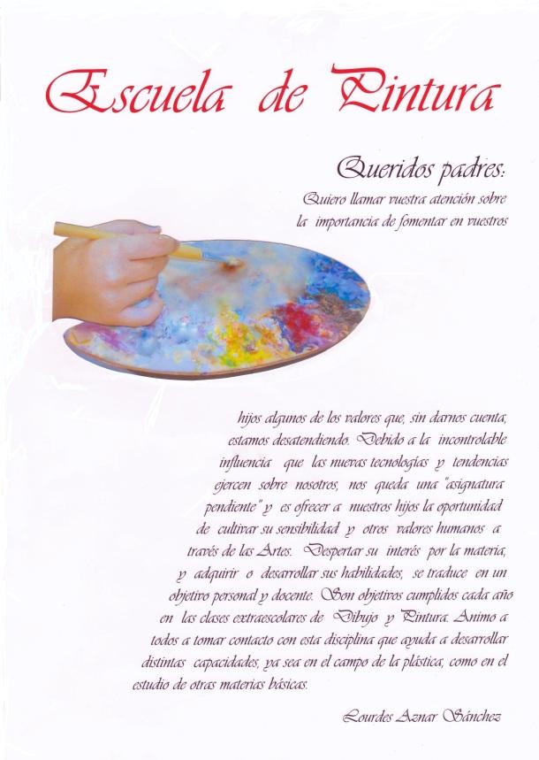 Presentación ESCUELA DE PINTURA