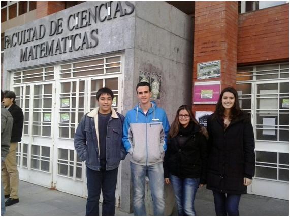 Participantes Olimpiada matemática