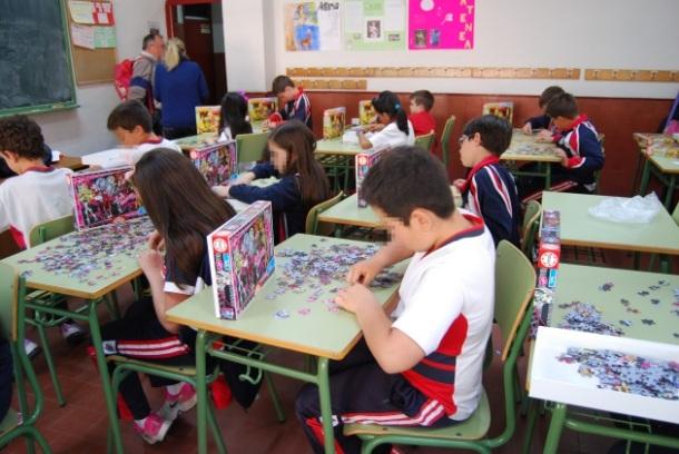 Alumnos participantes puzzles